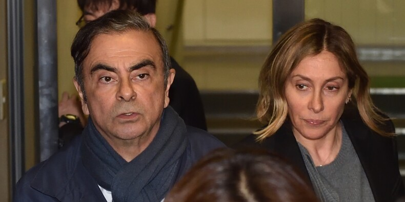 L'épouse de Carlos Ghosn entendue par la justice japonaise