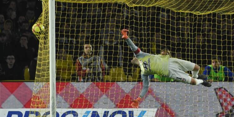 Ligue 1: trois de chute pour Lyon qui craque à Nantes