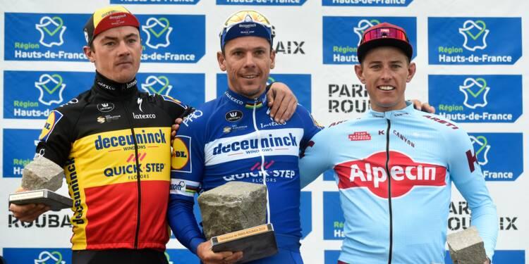 Paris-Roubaix: Philippe Gilbert couronné à 36 ans