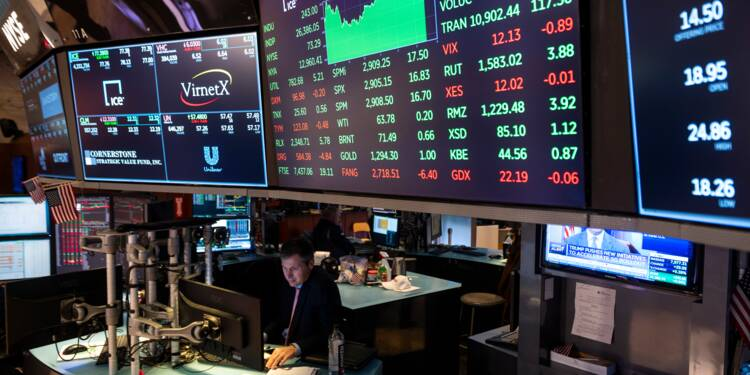 Wall Street, en légère hausse, porte le Nasdaq et S&P 500 à un record