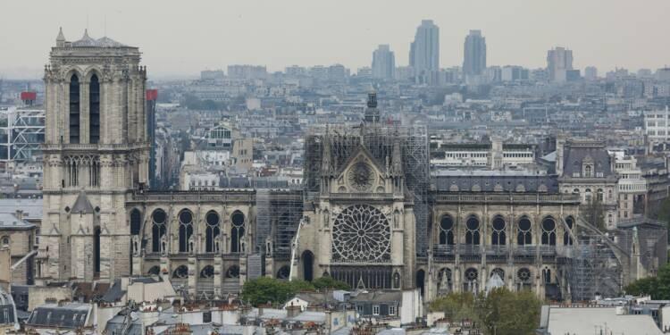 """Notre-Dame: trêve des partis pour les européennes, le temps du """"deuil"""""""