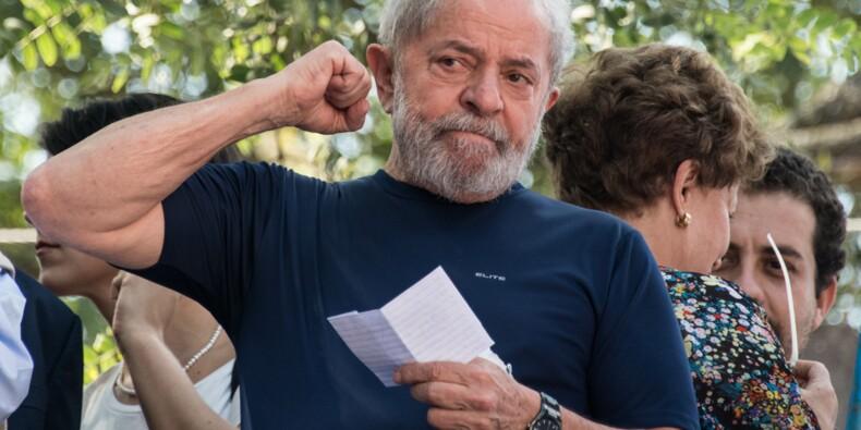 Brésil : la justice allège la peine de l'ex-président Lula