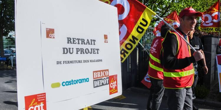 Plan social chez Castorama: des salariés s'invitent à la première réunion de négociations