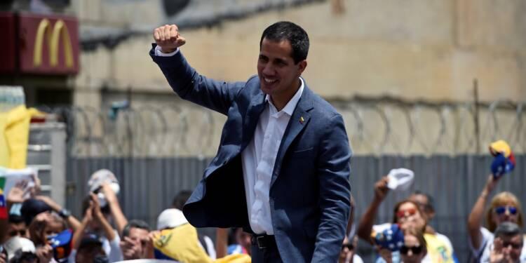 Venezuela : l'opposant Guaido réitère son appel à l'armée à le rejoindre