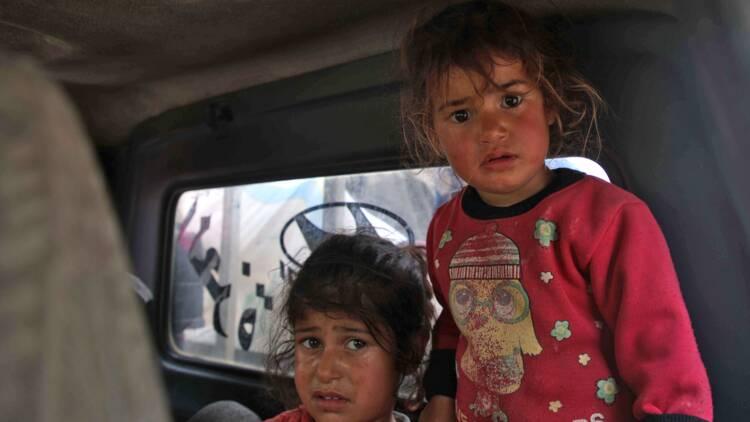 Syrie: près de 140.000 déplacés par les combats dans le nord-ouest