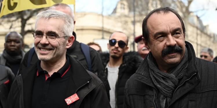 """1er mai: CGT, CFDT et FO craignent que les violences """"brouillent"""" leur message"""