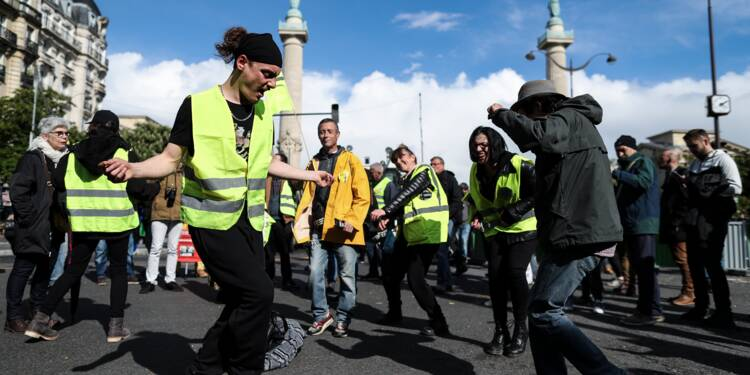 """Après le 1er mai, la plus faible mobilisation des """"gilets jaunes"""""""