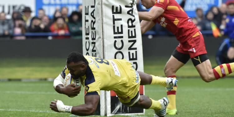 Top 14: Clermont rejoint Toulouse en demi-finales