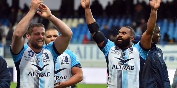 Top 14: Montpellier toujours en course, Bordeaux-Bègles non