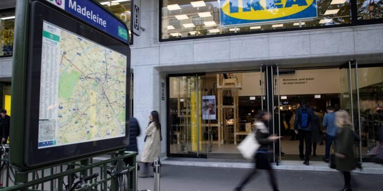 """Ikea à Paris, un magasin """"laboratoire"""" qui a vocation à être transposé ailleurs"""