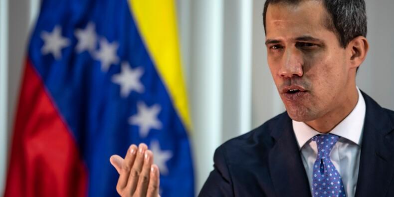 """Juan Guaido à l'AFP : """"Certains n'ont pas tenu parole"""" lors du soulèvement militaire raté"""