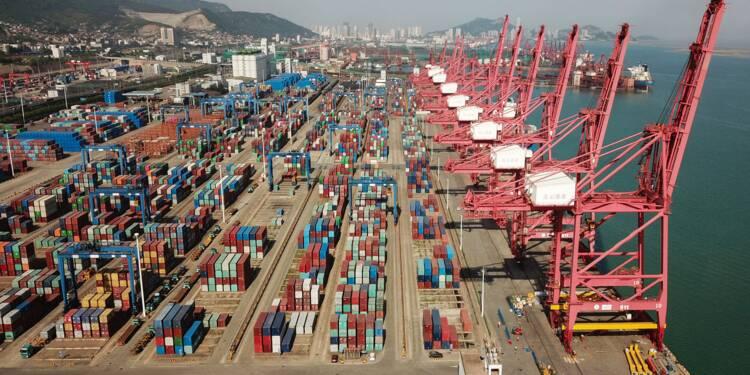 En plein de bras de fer avec Trump, le commerce chinois fait grise mine