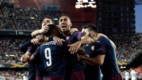 Ligue Europa: un triplé d'Aubameyang expédie Arsenal en finale