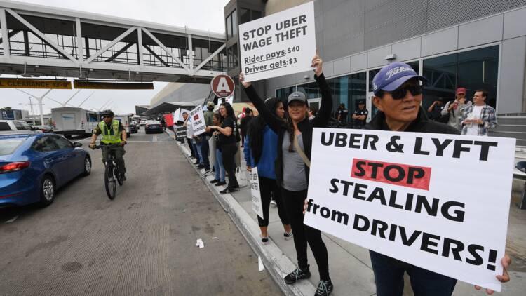 Uber s'apprête à entrer en Bourse sur fond de grogne des chauffeurs