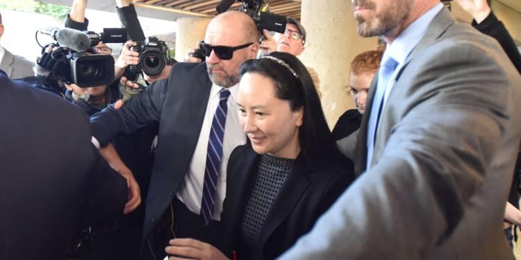 Canada: une dirigeante de Huawei réclamée par les Etats-Unis face à la justice