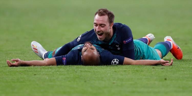 C1: Tottenham et Lucas brisent le rêve de l'Ajax pour décrocher leur 1ère finale