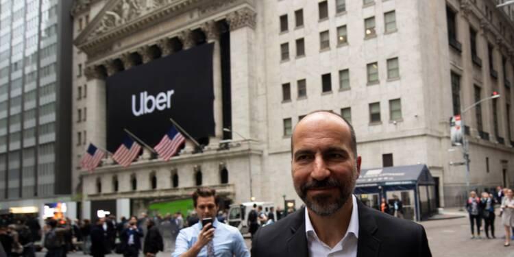 Uber envahit la Bourse de New York pour son baptême boursier