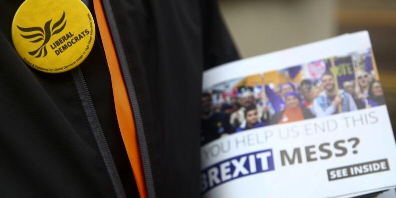 """Européennes: la """"difficile"""" campagne des conservateurs, embourbés dans le Brexit"""