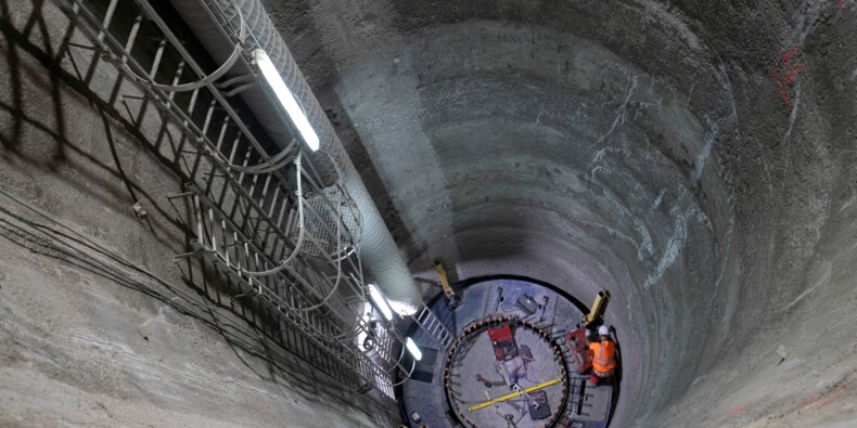 Du travail de précision pour faire passer le RER sous La Défense