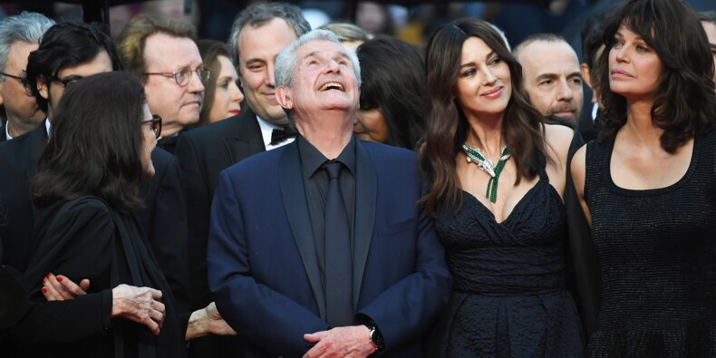 """Emotion à Cannes pour le retour du couple mythique d'""""Un homme et une femme"""""""