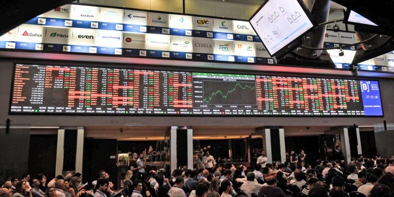 Au Brésil, l'économie déprime, la Bourse a perdu tous ses gains