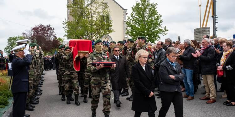 Obsèques d'Alain Bertoncello: tout un village pleure son héros