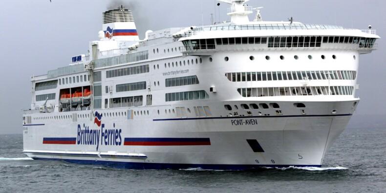 Brittany Ferries: le Pont-Aven immobilisé jusqu'à fin mai