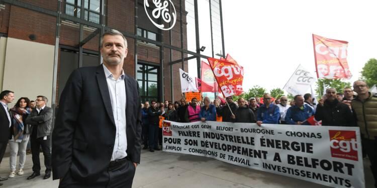 GE Belfort: mobilisation des salariés dans la crainte d'un plan social