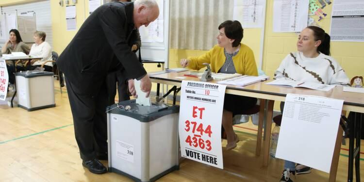 Elections européennes: les pro-UE donnés en tête en Irlande