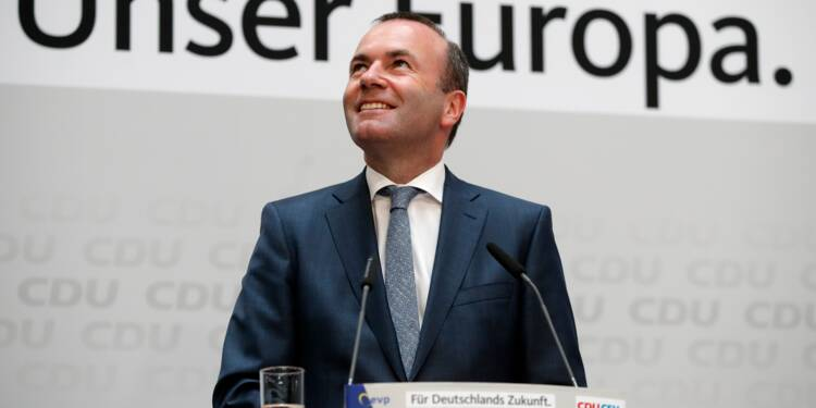 Européennes: percée des Verts allemands, le camp de Merkel en tête mais en baisse