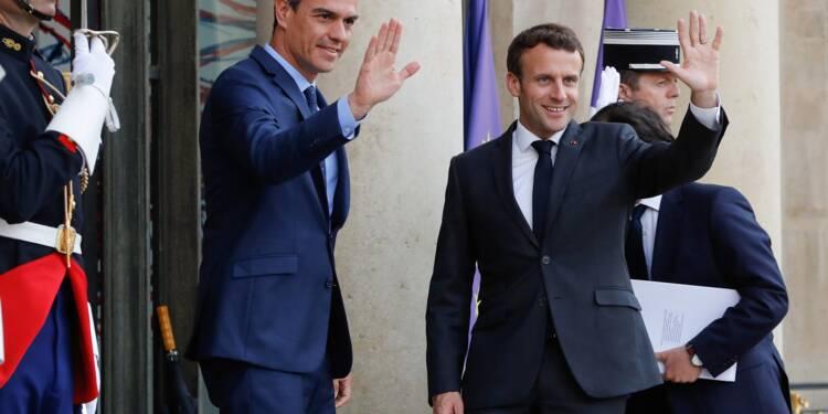 Européennes: Macron à la manœuvre pour composer une majorité européenne