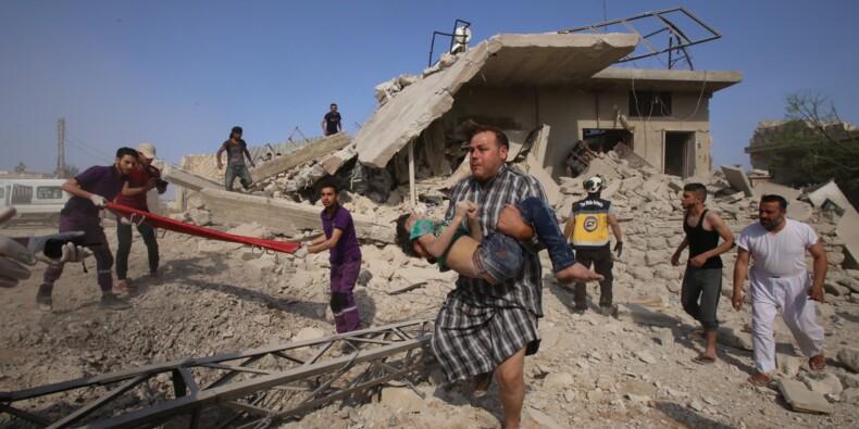 Syrie: 7 morts dont des enfants dans de nouveaux raids du régime sur Idleb