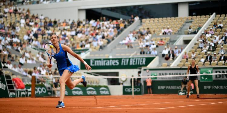 Roland-Garros: la N.2 Pliskova battue au 3e tour, Osaka assurée de rester N.1