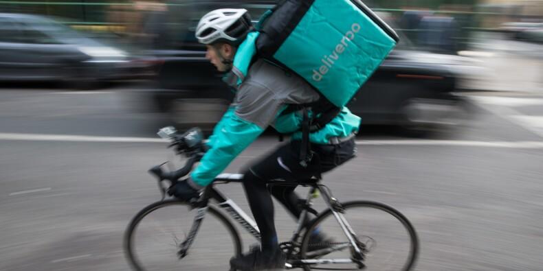 Les livreurs Deliveroo vent debout contre les nouveaux tarifs