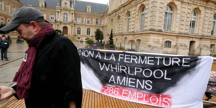 Amiens: le repreneur du site Whirlpool placé en redressement judiciaire