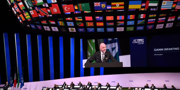 Fifa: Infantino réélu, sans surprise, pour un deuxième mandat