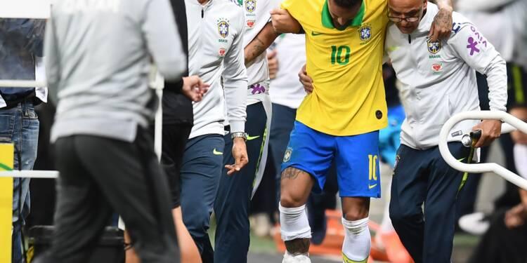 """Neymar forfait pour la Copa America en raison de la """"gravité"""" de sa blessure"""