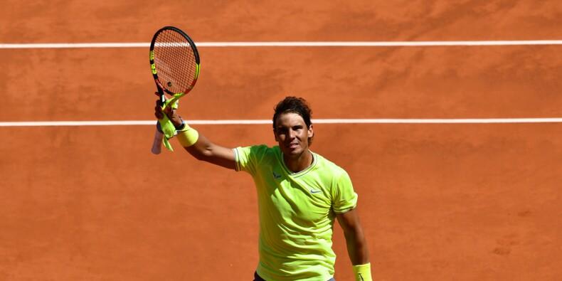 Roland-Garros: Nadal éteint Federer et s'offre une 12e finale