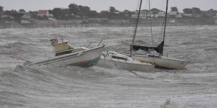 Tempête Miguel: 10 départements en vigilance orange dans l'Ouest et le Centre
