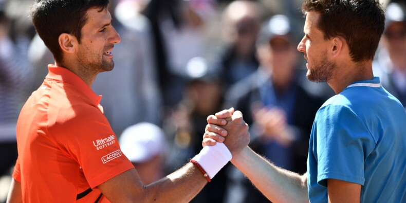 Roland-Garros: Djokovic stoppé par Thiem qui rejoint Nadal en finale