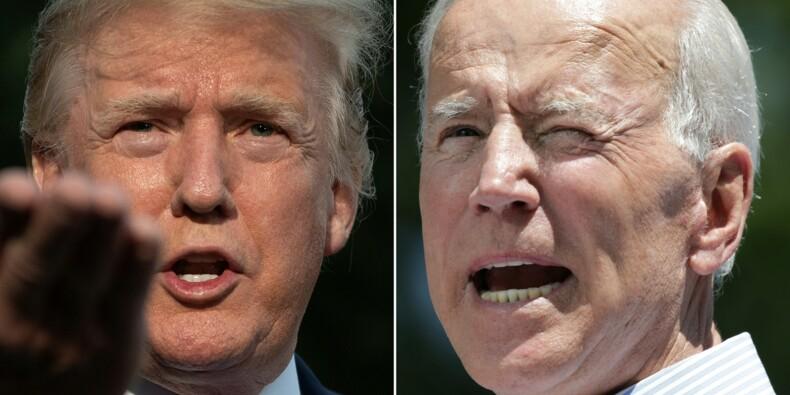 """Trump traite Biden de """"crétin"""", le ton est donné dans l'Iowa"""