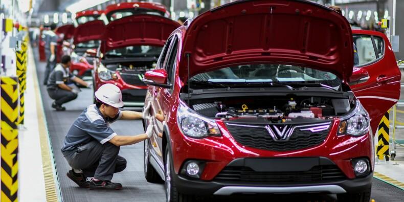 Coup d'envoi des livraisons de la première voiture de marque vietnamienne
