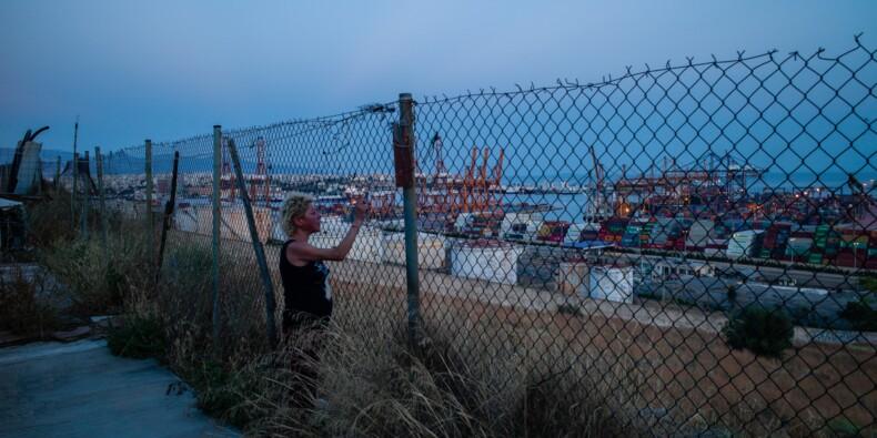 Au port du Pirée, l'insoluble chômage au coeur de l'élection en Grèce