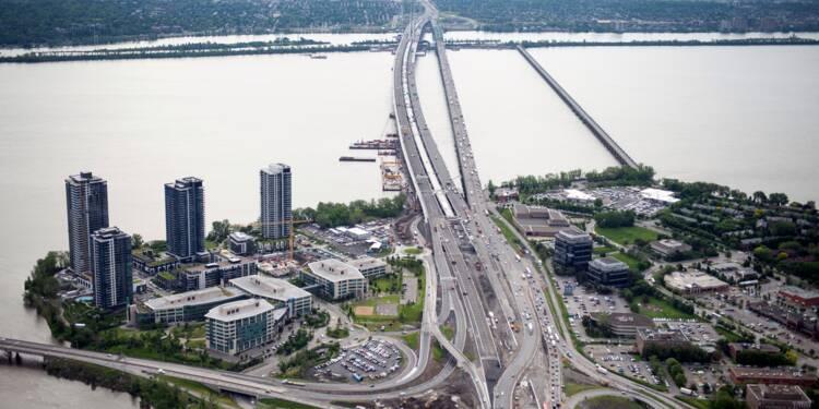 Canada: ouverture lundi à Montréal d'un nouveau pont sur le Saint-Laurent
