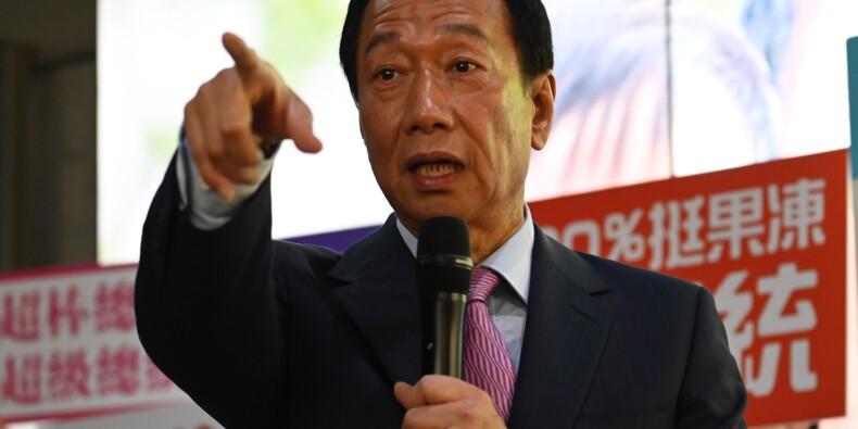 Gou cède les commandes de Foxconn pour briguer la présidence de Taïwan