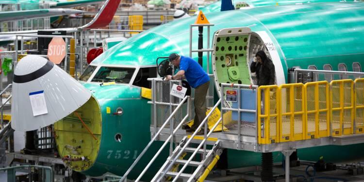 Boeing : la facture des déboires du 737 MAX s'envole à près de 8 milliards de dollars