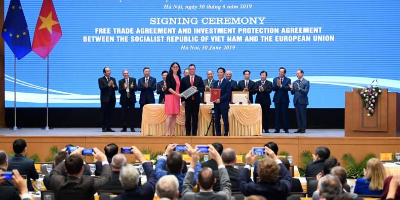 L'UE et le Vietnam signent un accord commercial longtemps attendu