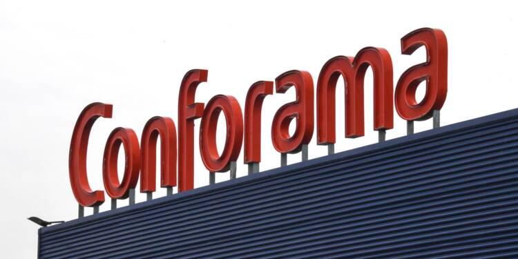 Conforama : l'idée d'une vente à la découpe rejetée par le PDG