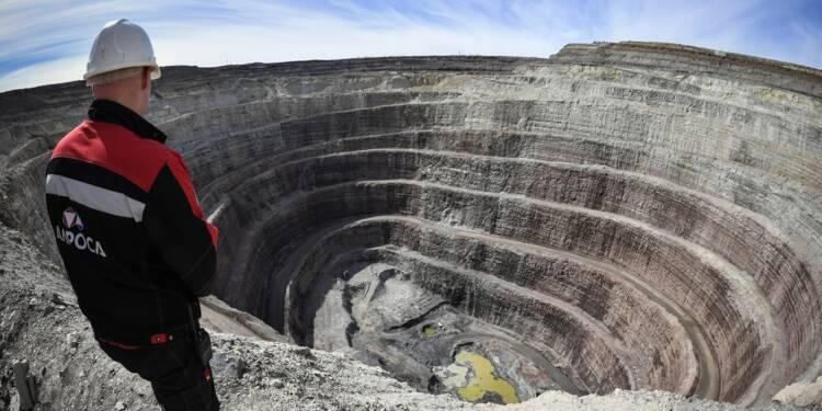 En Iakoutie, la Russie creuse le permafrost à la recherche de diamants