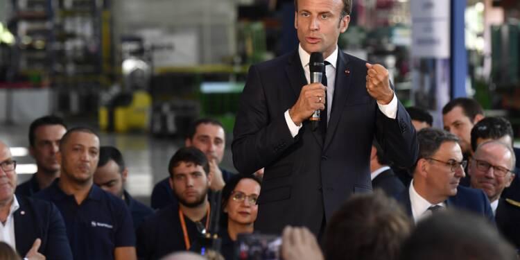 Macron annonce une nouvelle usine Safran près de Lyon, 250 emplois à la clé
